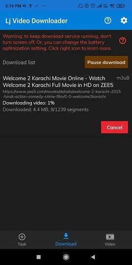 Download Videos from Zee5 Method 4.4