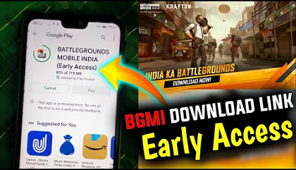 BGMI Early Access Link Download